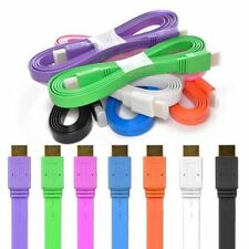 CABLE HDMI COULEURS FULL HD TV 3D BLU RAY CONSOLES PS4 XBOX 1.4 LCD 1920x1080 OR