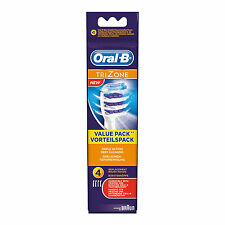 Braun Oral-B Trizone Electric Toothbrush Heads [EB30-4] Range of Pack Sizes