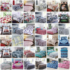 Duvet Cover Bedding Quilt Bed And Pillowcases Set Single Double King Size Modern