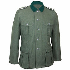 GERMAN Army M36 FIELD GRIS Laine TUNIQUE WW2 Repro Wehrmacht Uniforme