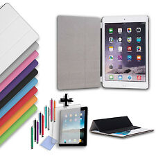 Smart Cover Magnetica + Back Case Apple iPad 2/3/4 Mini Air +Pellicola + Pennino