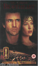 Braveheart VHS Video Tape Mel Gibson