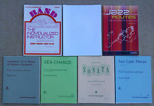 SHEET MUSIC & BOOKLETS FOR SAXOPHONE & PIANO (ALTO, TENOR, Eb) & SOLOS.