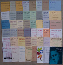 SHEET MUSIC & BOOKLETS FOR THE CLARINET & PIANO