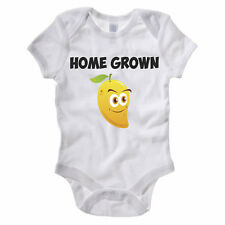 HOME GROWN MANGO - Fruit / Vegetables / Fresh Produce / Funny Themed Baby Grow