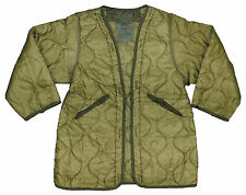New Original Army Issue Surplus Cold Weather Long M65 Fishtail Parka Liner