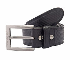 Adamis Genuine Leather Mens Belt BL112 Black