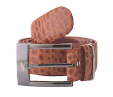 Adamis Genuine Leather Mens Belt BL121 Tan