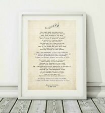 166 Bob Lind - Elusive Butterfly - Song Lyric Art Poster Print - Sizes A4 A3