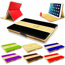 Genuine Rich Boss Leather Smart Stand Case Cover For iPad Air Air 2 Mini 2 3