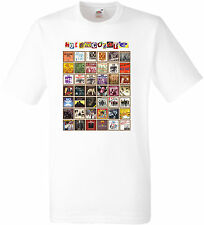 HOT CHOCOLATE SINGLES T-SHIRT  FRUIT OF THE LOOM POLYESTER