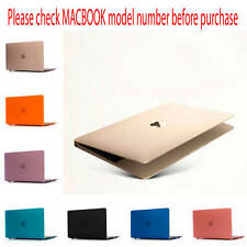 Brand New Crystal Rubberized Hard Case Hard Shell Cover For Apple Macbook Models