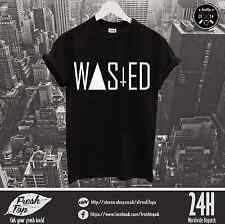 Wasted T Shirt Youth Dope Rihanna Hipster Wifey Zoella Cocaine And Caviar Party