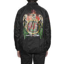 HUF X 420 X TY DOLLA $IGN COLLABORATION VULTURE COACH JACKET BLACK