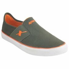 Sparx Olive Orange Color Casual Shoes And Sneakers
