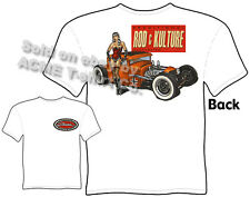 Hot Rod T Shirt 30 31 Ford Apparel Pinup Tee Rat Rod & Kulture 1930 1931 Coupe
