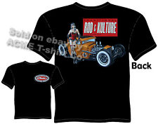 Hot Rod Tee 30 31 Ford T Shirt 1930 1931 Pinup Clothing Vintage Rat Rod Coupe