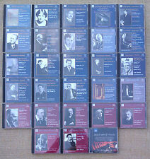 CLASSICAL CD'S - NAXOS HISTORICAL - BEETHOVEN, TCHAIKOVSKY, GRIEG & OTHERS