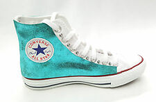 all star converse pelle turchese