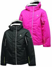 Dare2b Affable Kids Insulated Ski Jacket Boys & Girls, Black & Pink