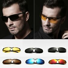 Fashion Men's Retro Polarized Sunglasses Sport Driving UV400 Glasses Eyewear