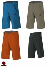 Mammut Runbold Shorts Pants Hiking pants Men's dark cyan elastic