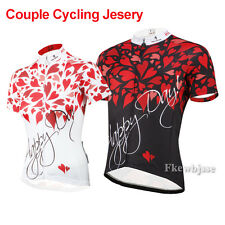 Men Women Couple Tops Ciclismo Cycling Jersey Bike Bicycle Clothing Short Sleeve