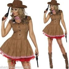 Femmes Coquine Sexy Cowgirl Cow-boy & Indiens Far West Costume Déguisement