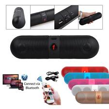 Bluetooth F Wireless Pill Shaped Portable Loud Beats Travel Audio Sound Speaker