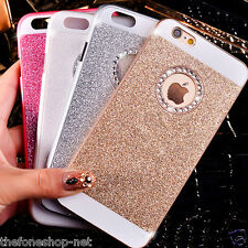 Rhinestone Diamond Bling Back Cover for Apple iPhone 5, 5S,6 6S, 6 Plus (GOLD)