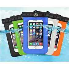 "Funda Universal Movil Impermeable Acuática doble cierre Hasta 6"" IPHONE SAMSUNG"