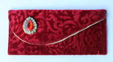 Beautifully Designed Velvet Envelope Clutch