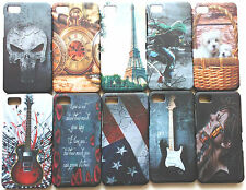 IMPORTED DESIGNER PRINTED HARD BACK NIGHT GLOW CASE COVER FOR BLACKBERRY Z10