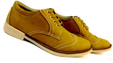 Hazart Stylish Shude Leather brogue Casual Shoes for men,s