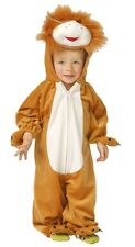 baby boys girls brown lion animal halloween fancy dress costume outfit 624 mths