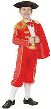 Boys Spanish Matador Bull Fighter Around the World Fancy Dress Costume Outfit