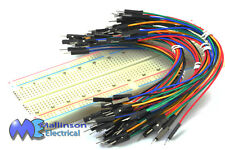 Breadboard Project Starter Kit with Power Supply and Jumper Wires