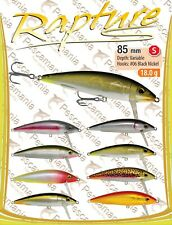 Artificiale spinning hard bait Trabucco Rapture Trouter 85mm 18gr. Sinking