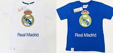 Real Madrid Football Shirt T Shirt Childrens All Sizes 100% Cotton Official FCRM