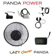 Panda Power: 48V 1000W Electric Bicycle e-Bike Conversion Kit
