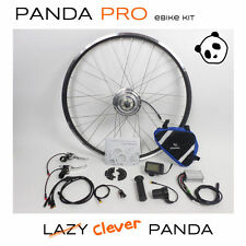 Panda Pro: Rear Wheel, 36V 250W Electric Bicycle e-Bike Conversion Kit, LCD D...