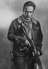 Rick Grimes Walking Dead  Poster Print ( Different Sizes ) A1 A2 A3 A4