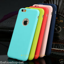 Apple iPhone 6 6S Premium Soft plastic pu Back Case Cover shell holster