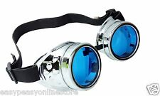 New Steampunk style retro cosplay adults fashion rivet goth goggles glasses emo