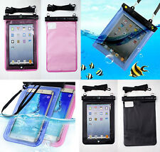 Impermeable Funda Pouch Bolsa Funda Para Tablet Libro Apple, Samsung UNIVERSAL