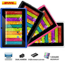 "7"" Zoll Quad Core Dual Kamera 8GB Android 4.4 Touchscreen WIFI Tablet PC DHL"