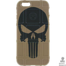 Magpul Field Case for iPhone 6,6s,7,7+,8,8+. Custom Punisher FDE by Ego Tactical