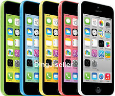 Unlocked Apple iPhone 5C 8GB 16GB Smartphone GSM 4G White Blue Green Pink Yellow
