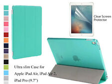 "For iPad Air/Air 2/Pro 9.7"" Screen Protector Slim Magnetic Smart Cover Case"