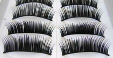 Eyelashes False Eye Black Lashes fake Make Up - 10 Pairs Natural Thick